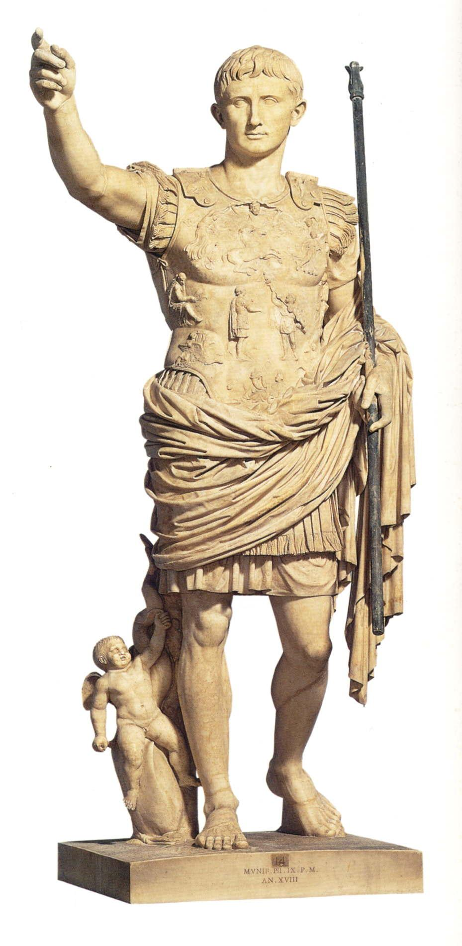 augustus of prima port an imperial deification Essay examples search essay examples browse by category browse by type augustus of prima porta that has been the subject of many scholarly discussion 953 words augustus of prima port: an imperial deification 1,174 words 3 pages.