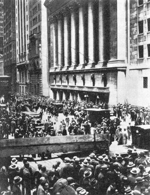 Stock Market Crash 1920s